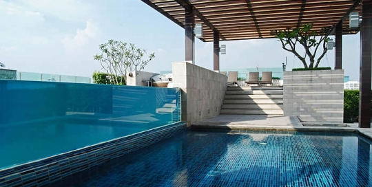 acrylic pools pti contractor general contractor pt prada tata indah